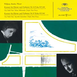 Mozart: Concertos for Piano and Orchestra Nos. 19 & 27