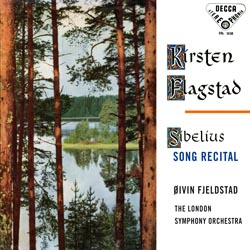 Sibelius Song Recital