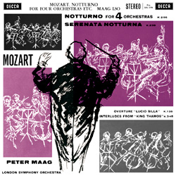 Mozart: Notturno for Four Orchestras
