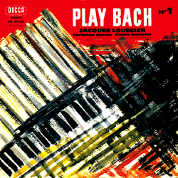 Jacques Loussier Trio: Play Bach No. 1