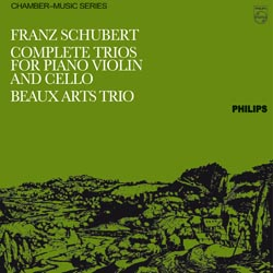 Schubert: Complete Trios For Piano, Violin And Cello
