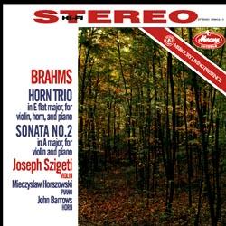 Brahms: Horn Trio, Sonata No. 2