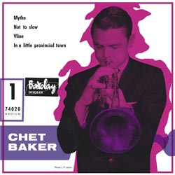 """Chet Baker and his Orchestra (7""""-EP)"""
