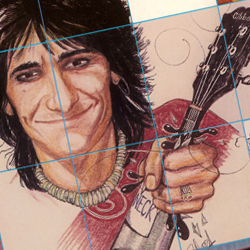 Ron Wood – The Living Total Work of Art on Record